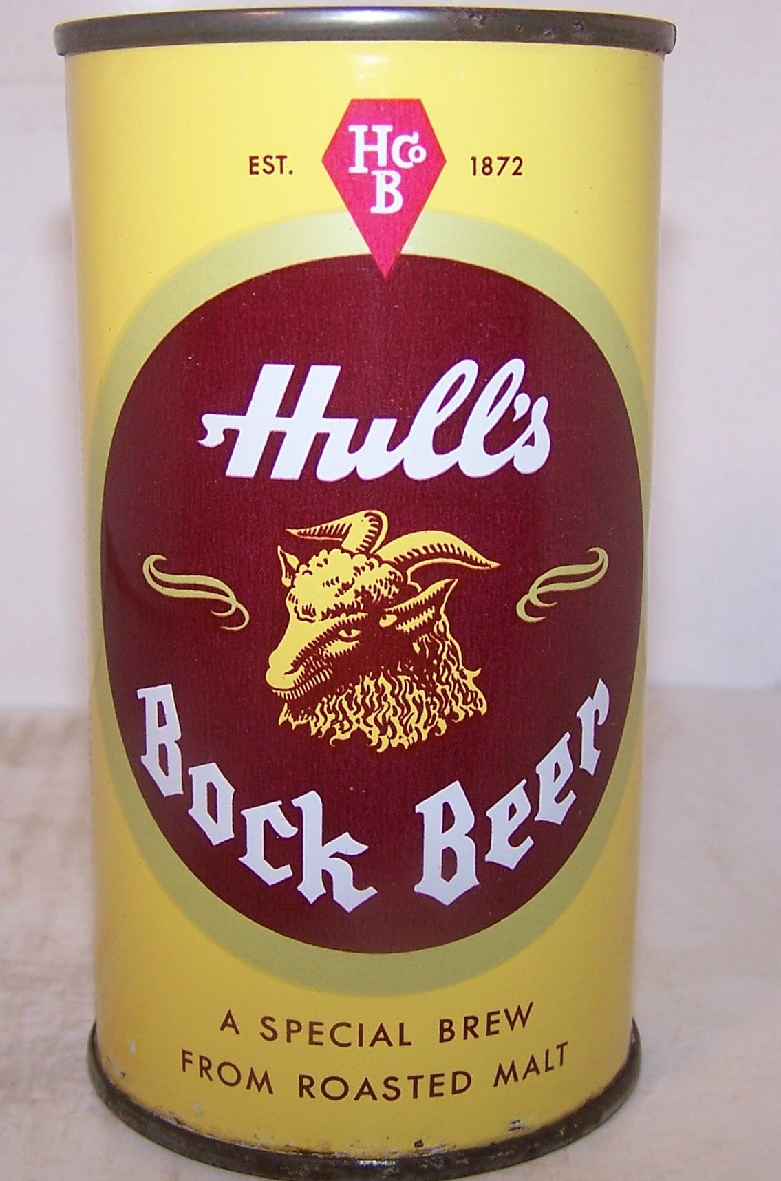 Hull's Bock beer, USBC 84-28, all original, grade 1 Sold 3/2/15
