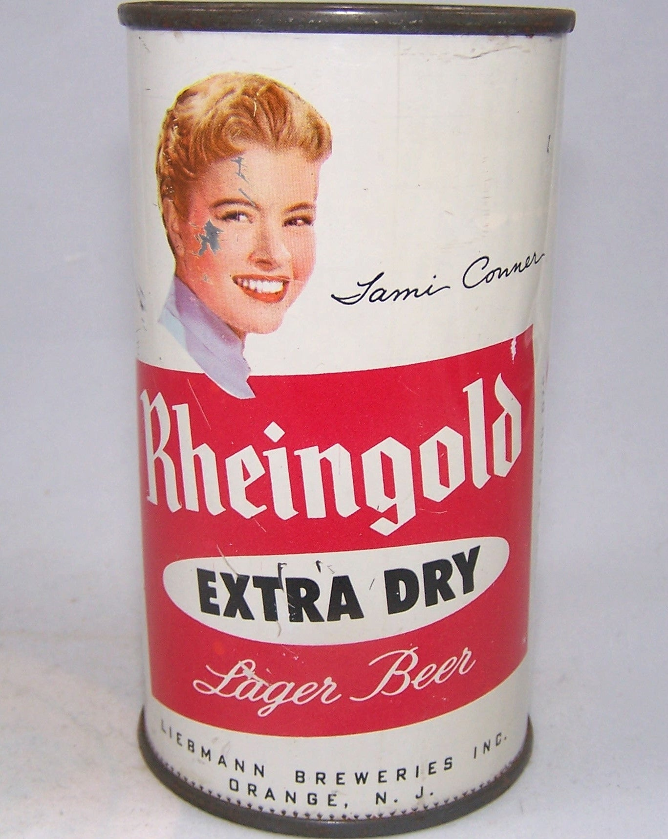 Rheingold Extra Dry (Tami Conner) New Jersey, USBC 123-11, Grade 1/1-  Sold on 06/18/16