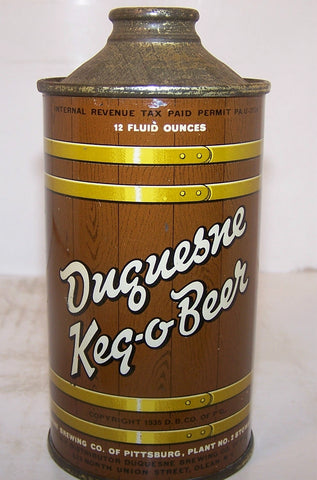 Duquesne Keg-O-Beer, USBC 159-24, Grade 1 Sold on 05/01/16