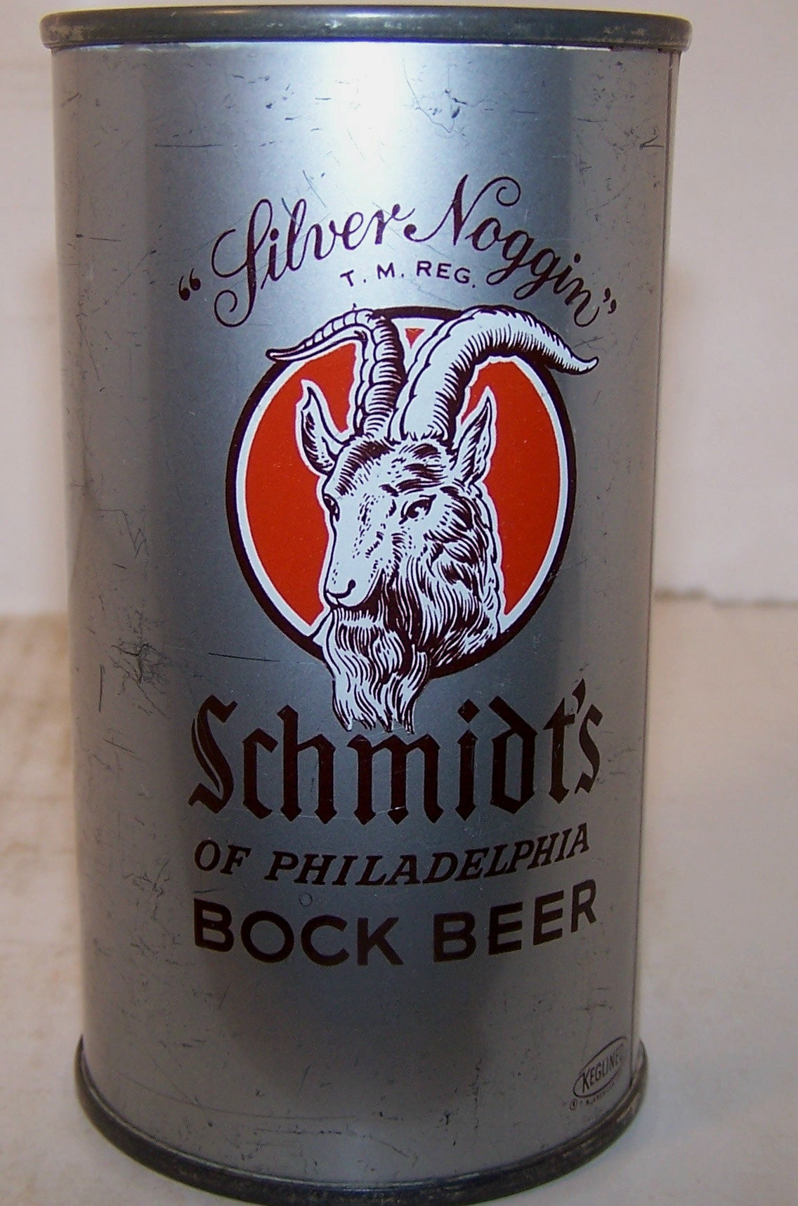 Schmidt's Bock Beer, USBC 131-33 Grade 1/1- tough bock can Sold on 2/28/15