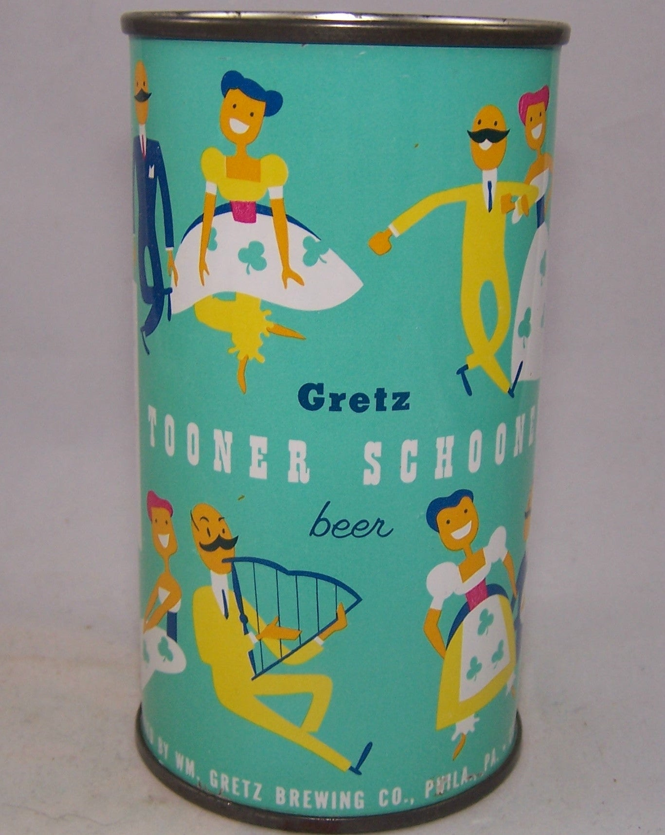 Gretz Tooner Schooner (My Wild Irish Rose) USBC 75-40 Grade 1/1+ Sold on 11/21/15