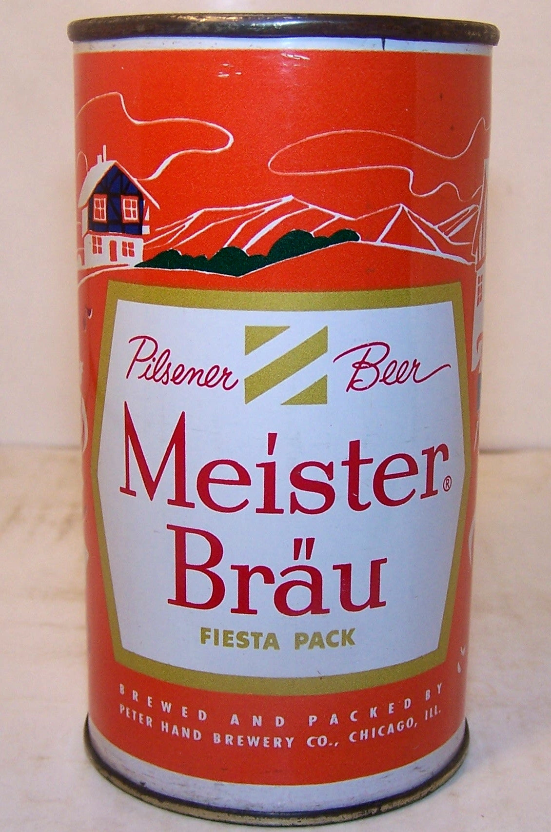 Meister Brau country can Germany USBC 97-2 Grade 1/1+ Sold on 9/30/15