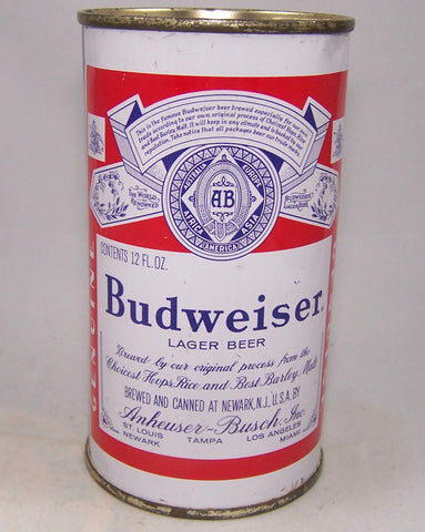 Budweiser Lager Beer (5 Cities) USBC 44-34, Grade 1 to 1/1+ Sold in 12/15