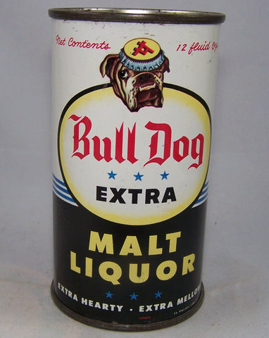 Bull Dog Extra Malt Liquor, USBC 45-17, Grade 1/1+ Sold on 12/08/15