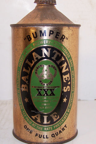 "Ballantine Ale ""Bumper"" USBC 202-7, with crown, Grade 1-"