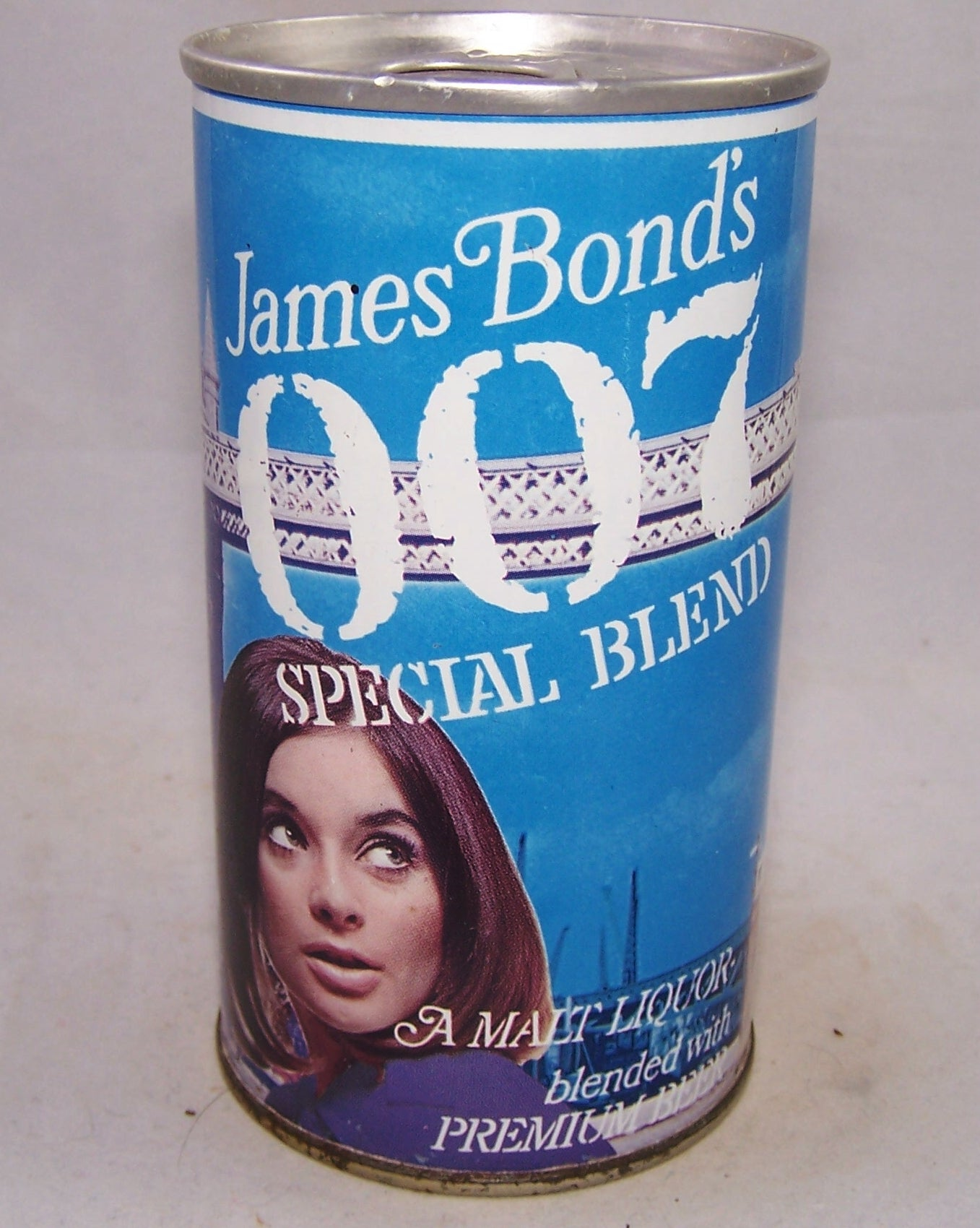 James Bond's 007 Special Blend, (White Stripe) USBC II 82-38, Grade A1+ Sold on 03/30/18