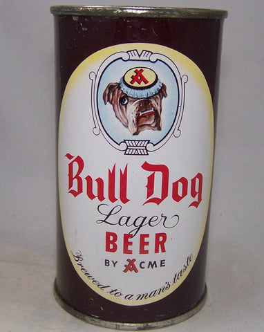 Bull Dog Lager Beer By Acme, USBC 45-21, Grade 1/1-