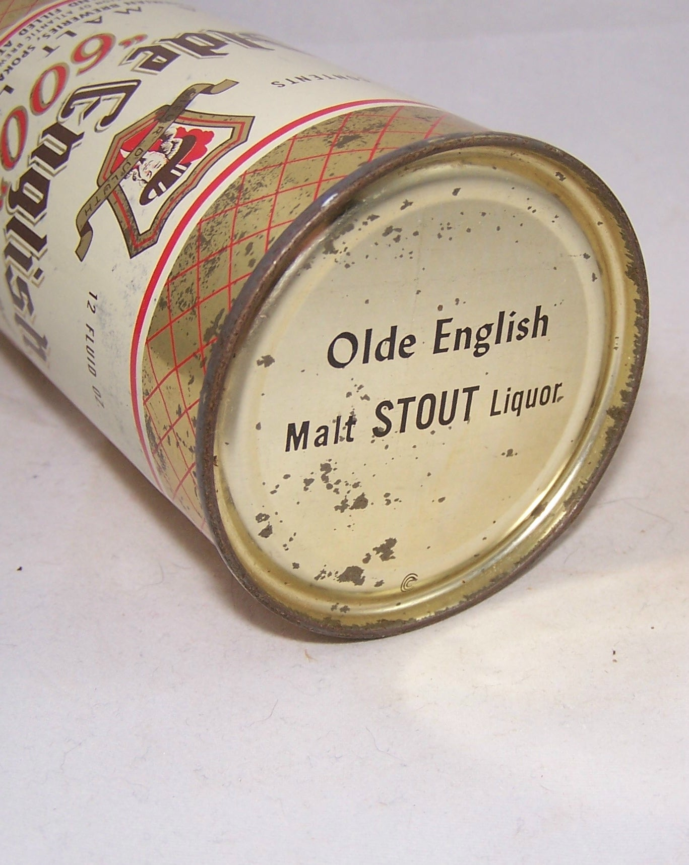 "Olde English ""600"" Brand Malt Liquor, USBC 108-40, Grade 1- Sold on 04/06/18"