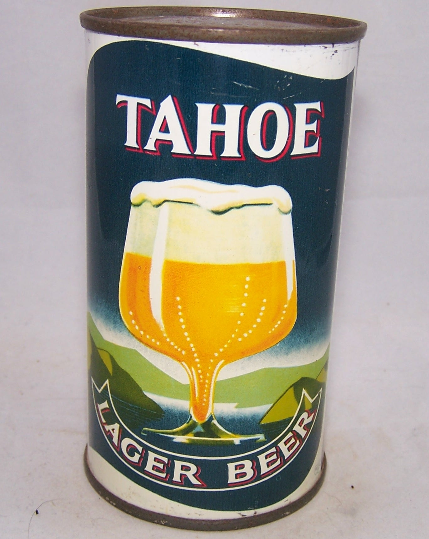 Tahoe Lager Beer, USBC 138-08, Grade 1/1+  Sold on 04/22/18