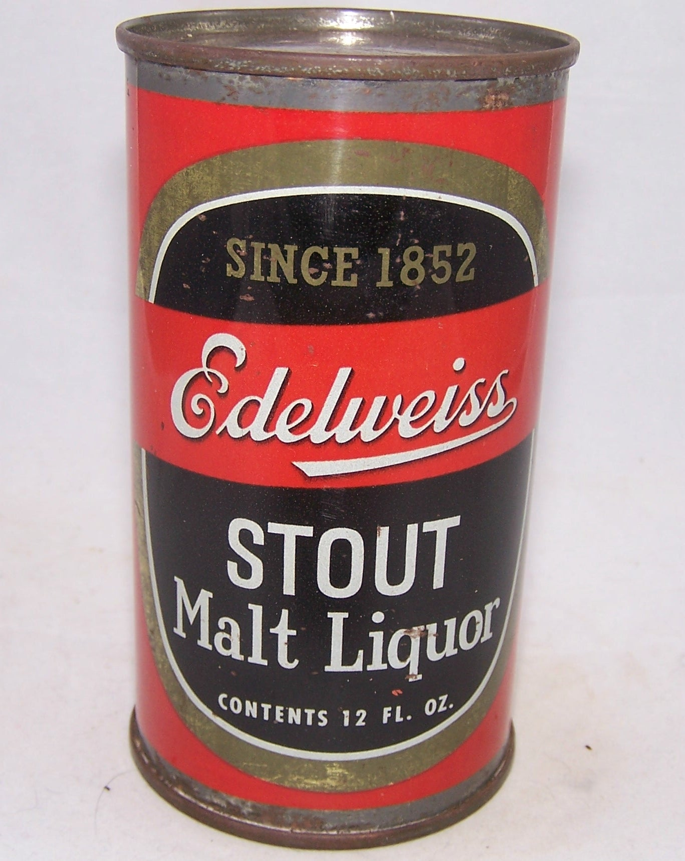 Edelweiss Stout Malt Liquor, USBC 59-10, Grade 1-  Sold on 04/06/18