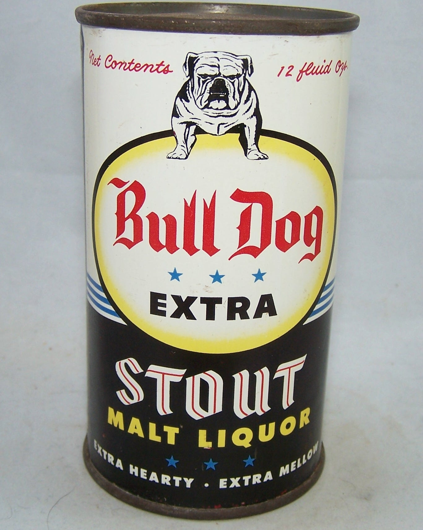Bull Dog Stout Malt Liquor, USBC 45-25, Grade 1/1+