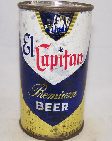 El Capitan Premium Beer (Maier) USBC 59-18, Grade 1-/2+ Sold on 2/12/18