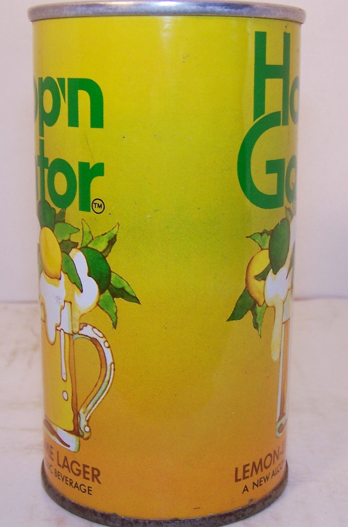 Hop'n Gator Lemon-Lime Lager, USBC II 77-13, grade 1/1+ Sold on 09/15/16