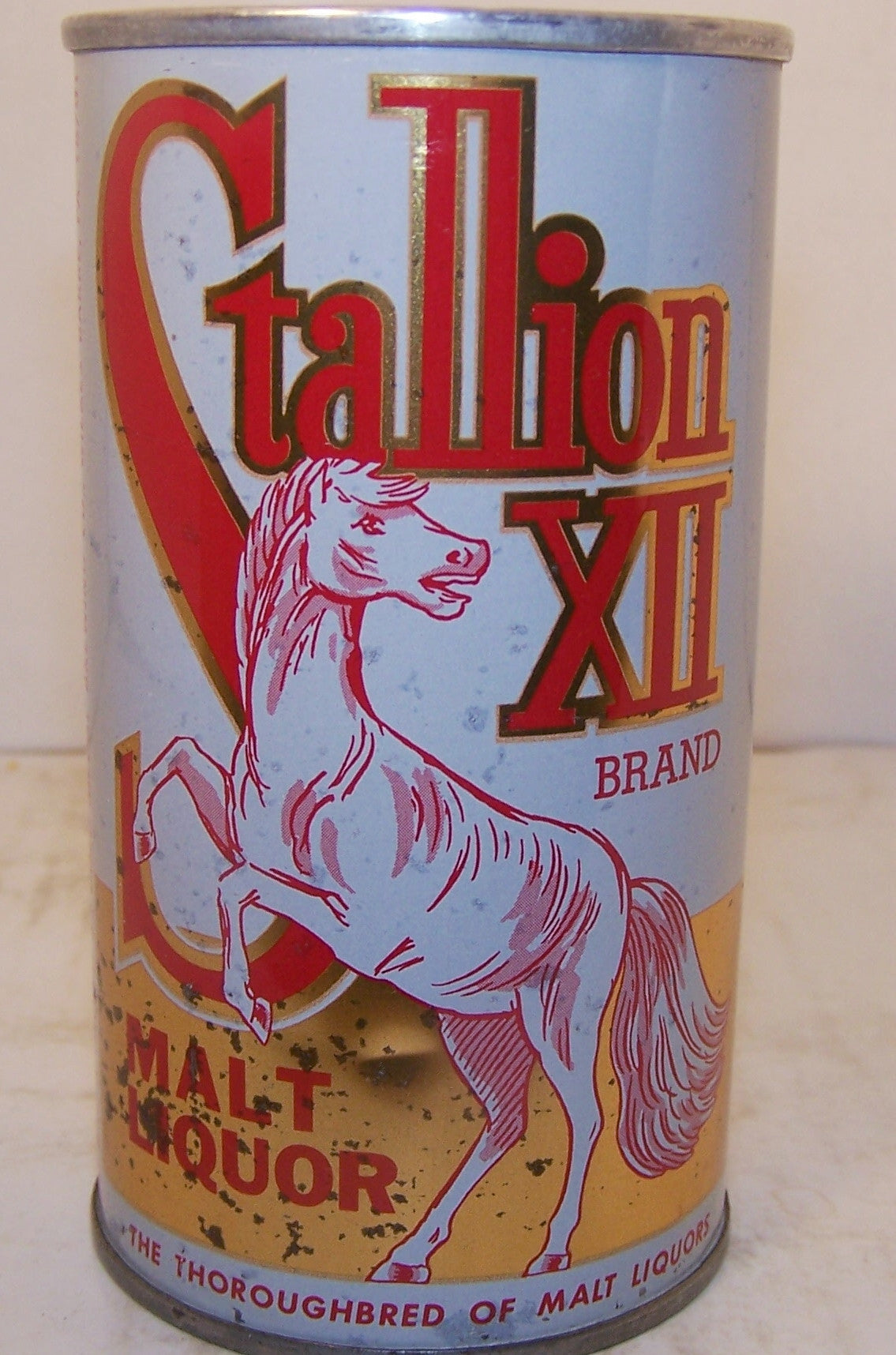 Stallion XII Malt Liquor, USBC II 126-3, grade 1- Sold on 2/8/15