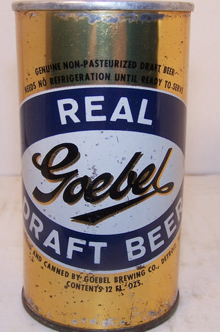 Goebel Real Draft Beer, USBC II 69-19 grade 1-