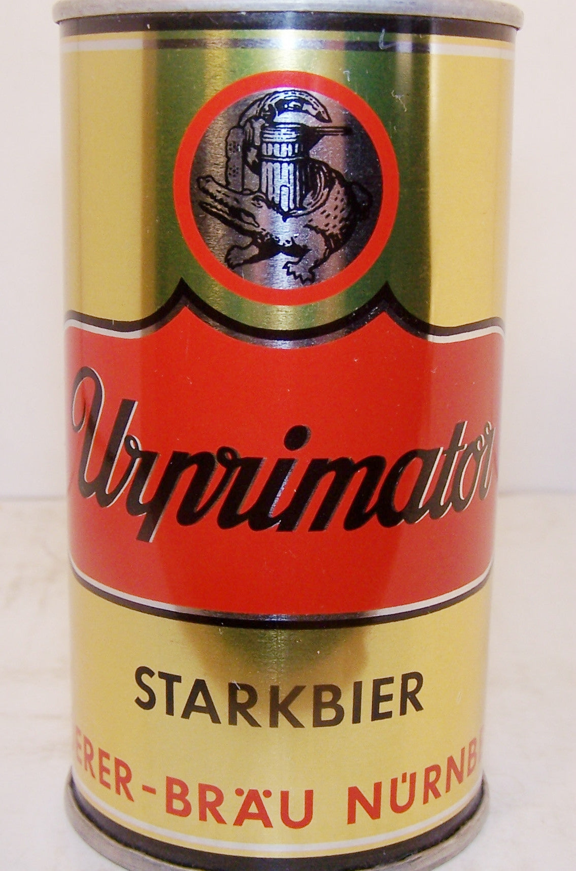 Urprimator Starkbier, can is rolled, very clean, grade A1+