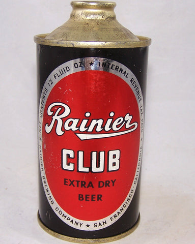 Rainier Club Extra Dry Beer, USBC 180-19, Grade 1