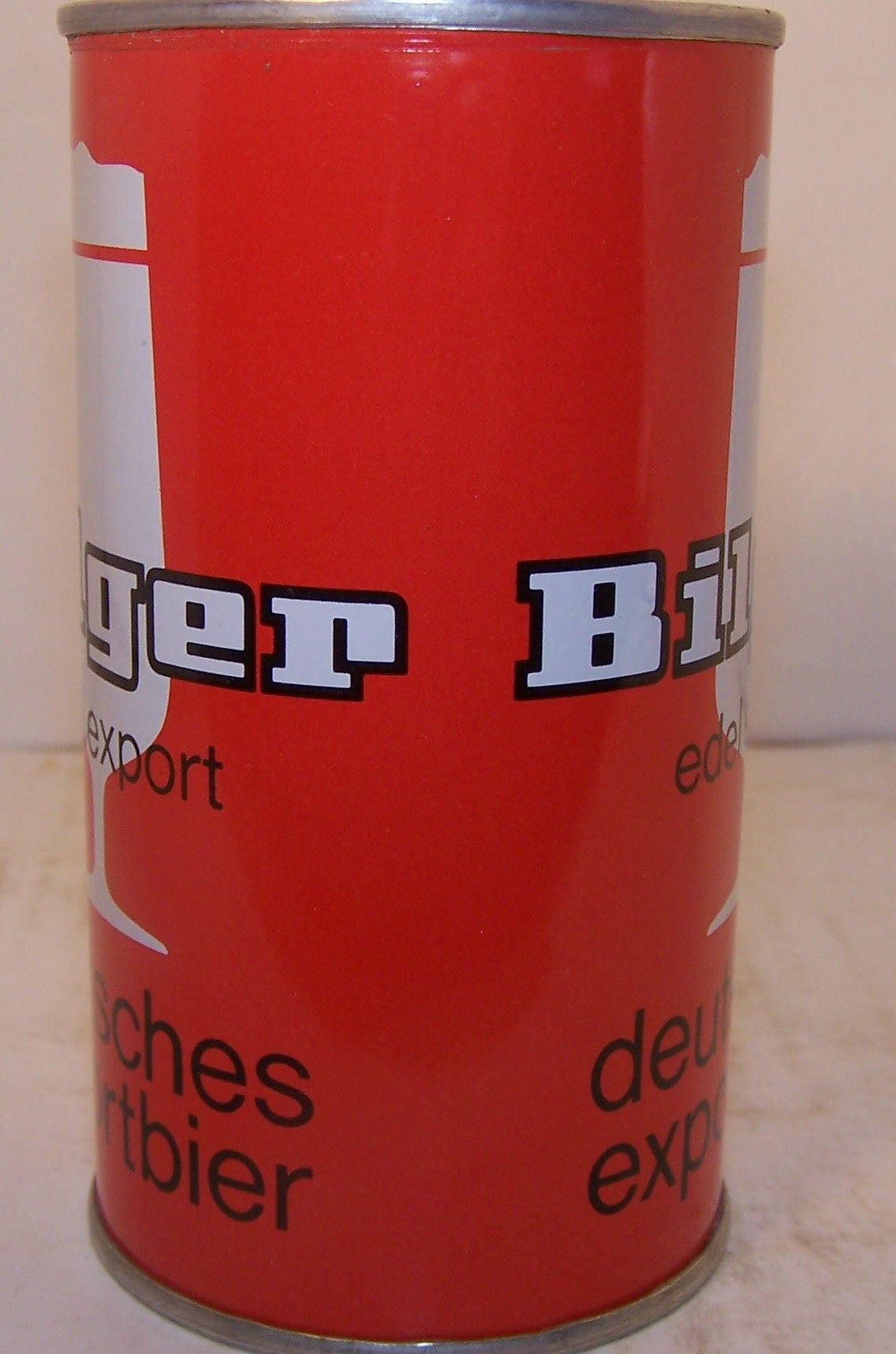 Bilger Deutsches Exportbier, can is rolled, Grade A1+ Sold on 10/28/15