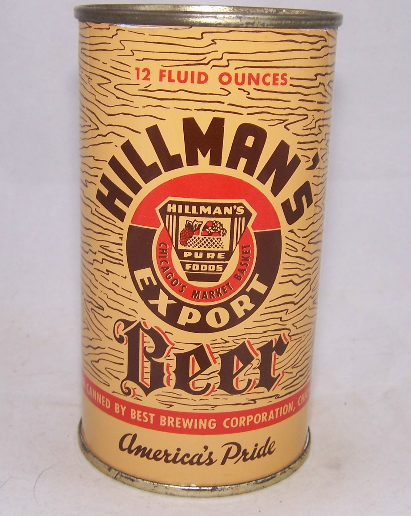 Hillman's Export Beer, USBC 82-17, Grade A1+   Sold on 02/15/18