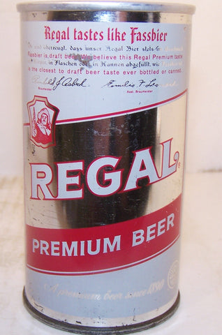 Regal Premium beer, USBC 113-19, original, grade 1- Sold on 08/26/17