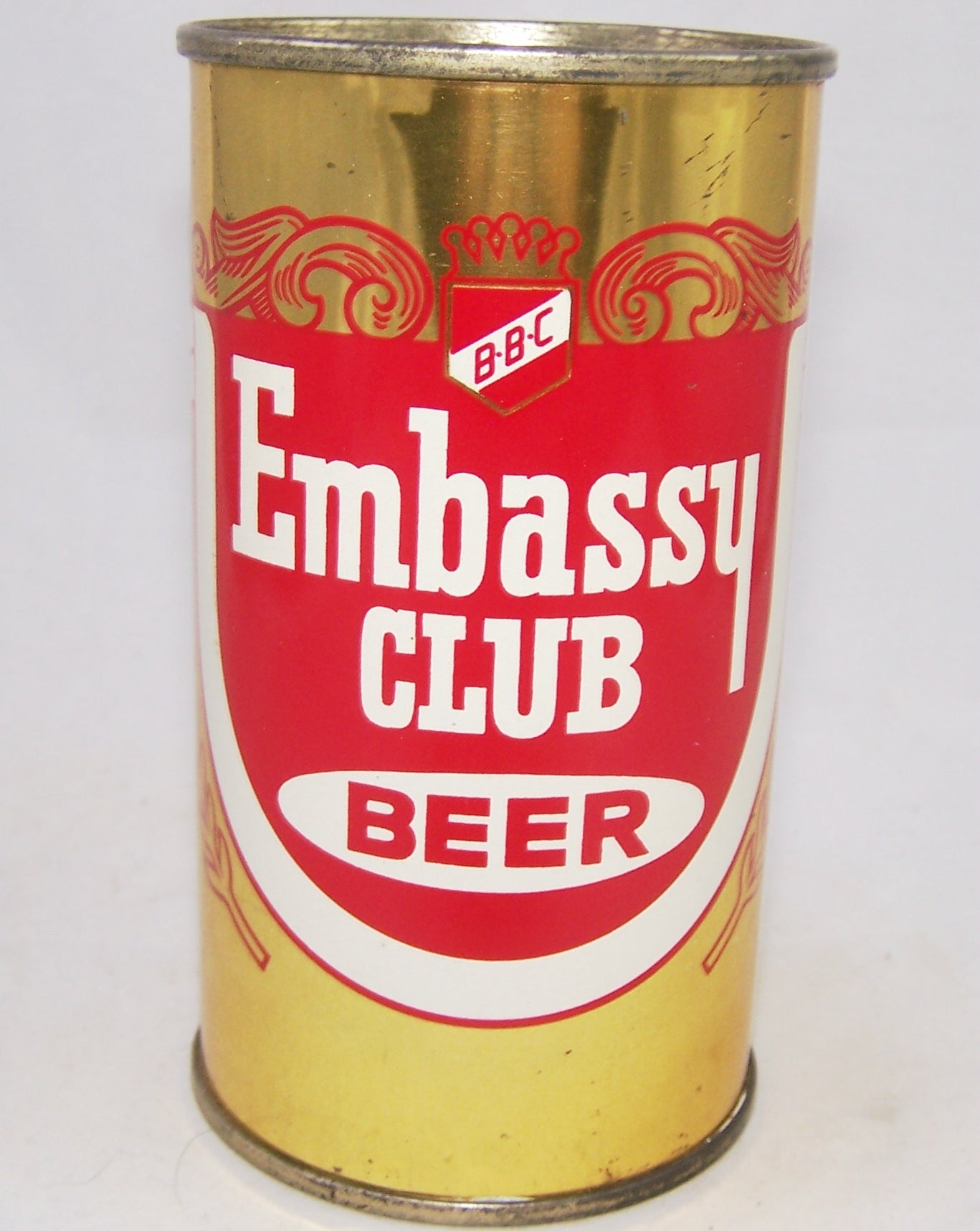 Embassy Club Beer, USBC 59-33, Grade 1 Sold on 02/15/18