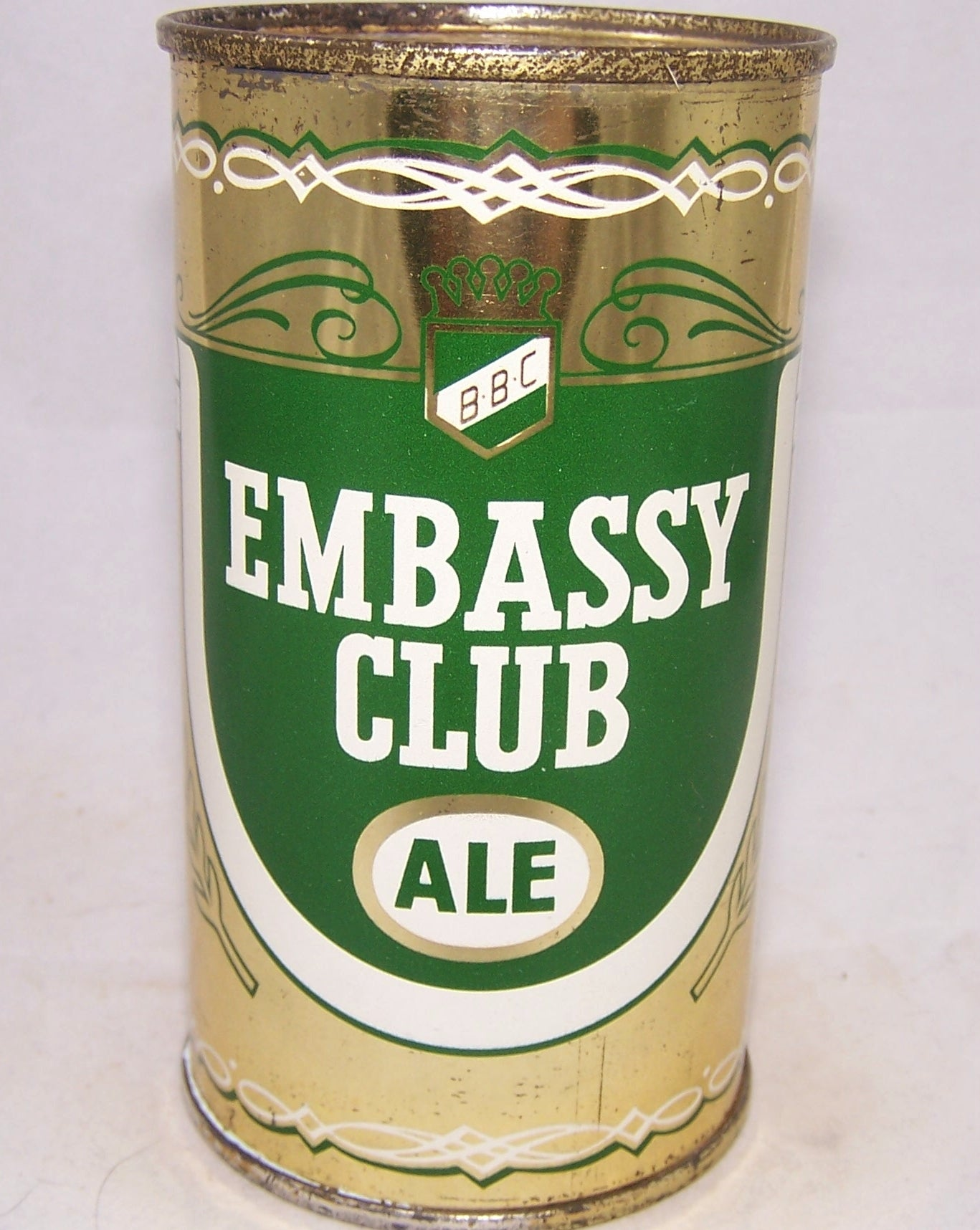 Embassy Club Ale, USBC 59-30, Grade 1- Sold on 02/15/18