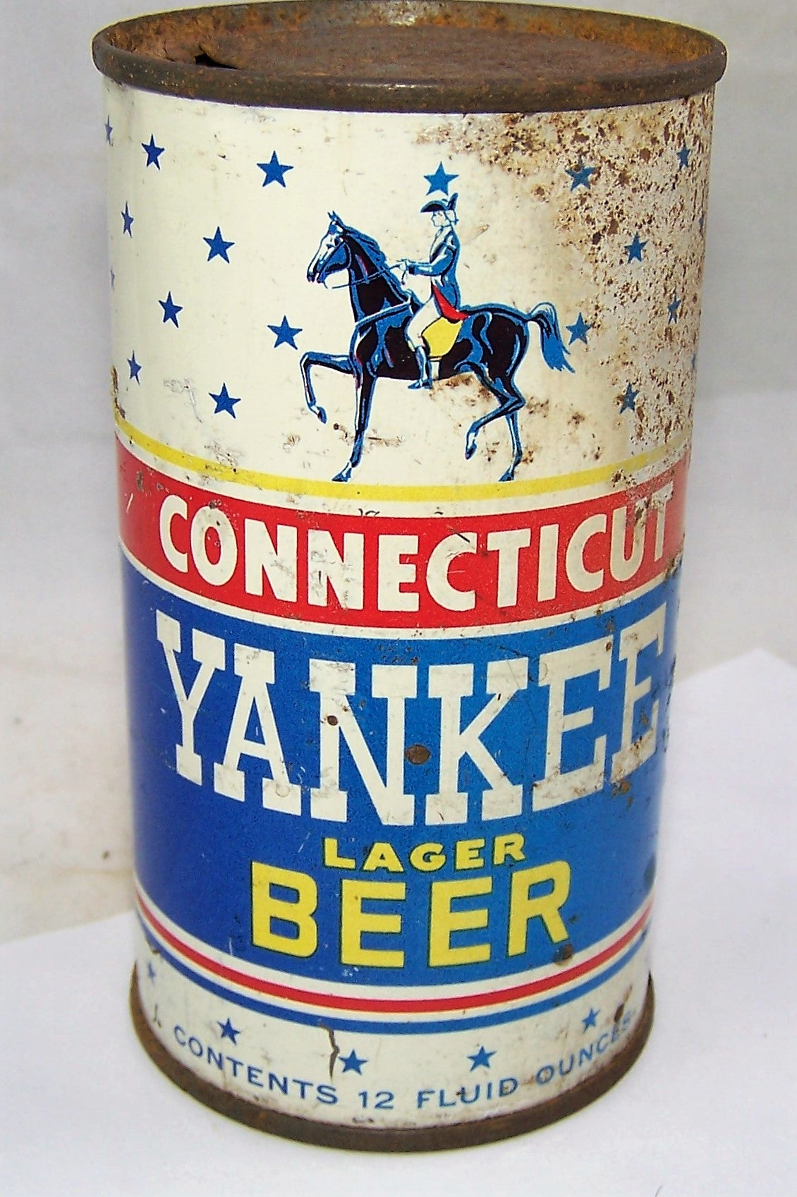 Connecticut Yankee Beer Flat Top, USBC 51-08