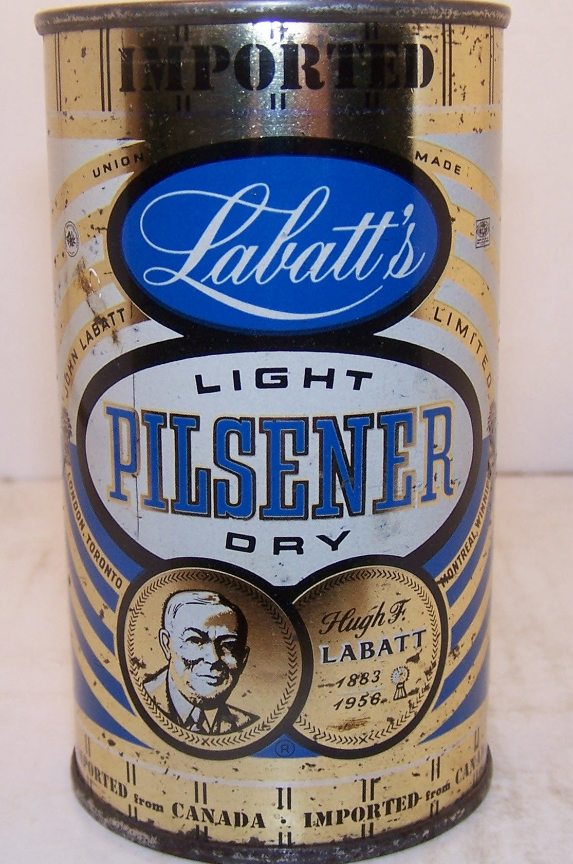 Labatt's Light Pilsener, original, Grade 1-