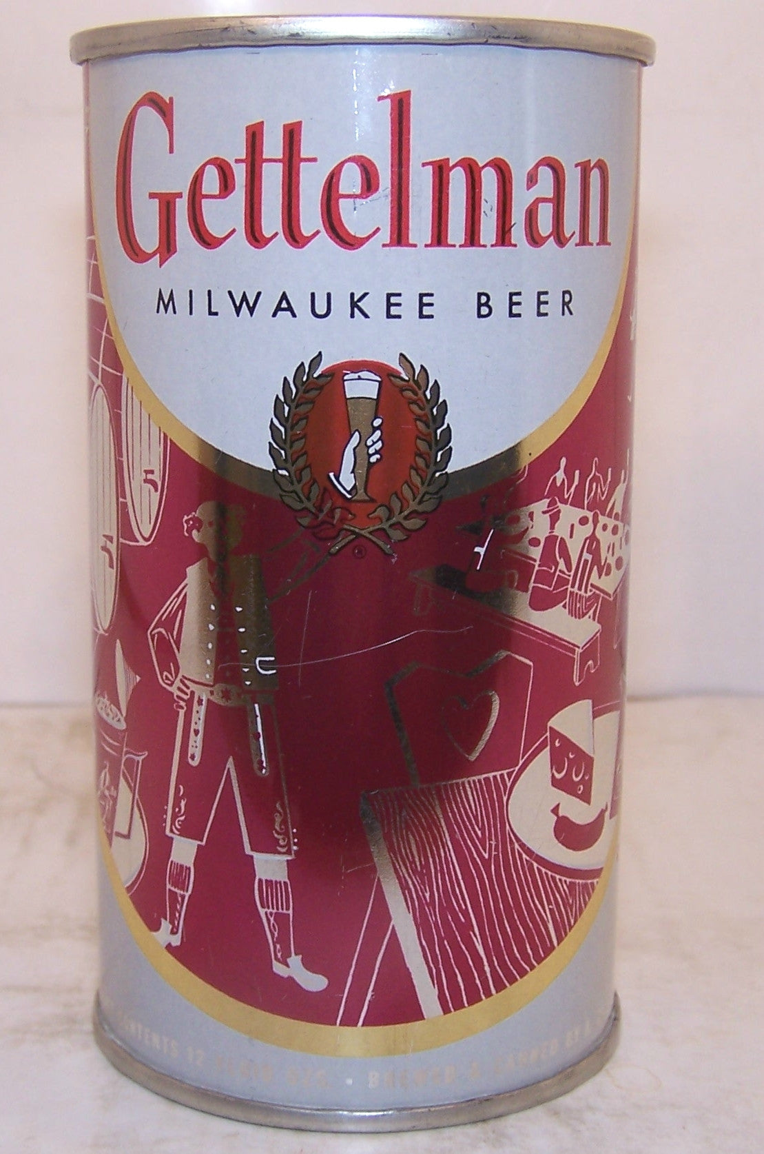 "Gettelman ""Picnic"" Beer, USBC 69-17, Grade 1/1+ Sold on 11/30/14"