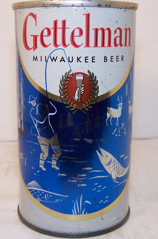 "Gettelman ""fishing"" beer, USBC 69-11, Grade 1- Sold 4/24/15"