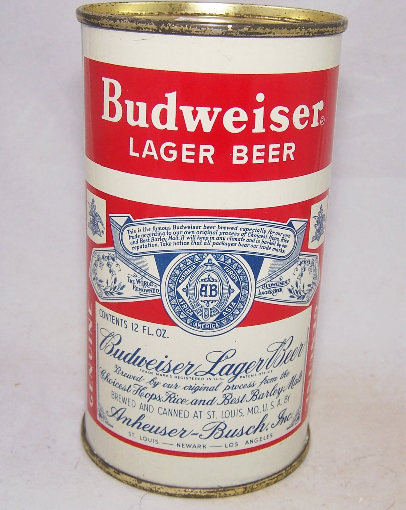 Budweiser Lager Beer, (3 City) USBC 44-13, Grade 1+ Sold on 02/19/18