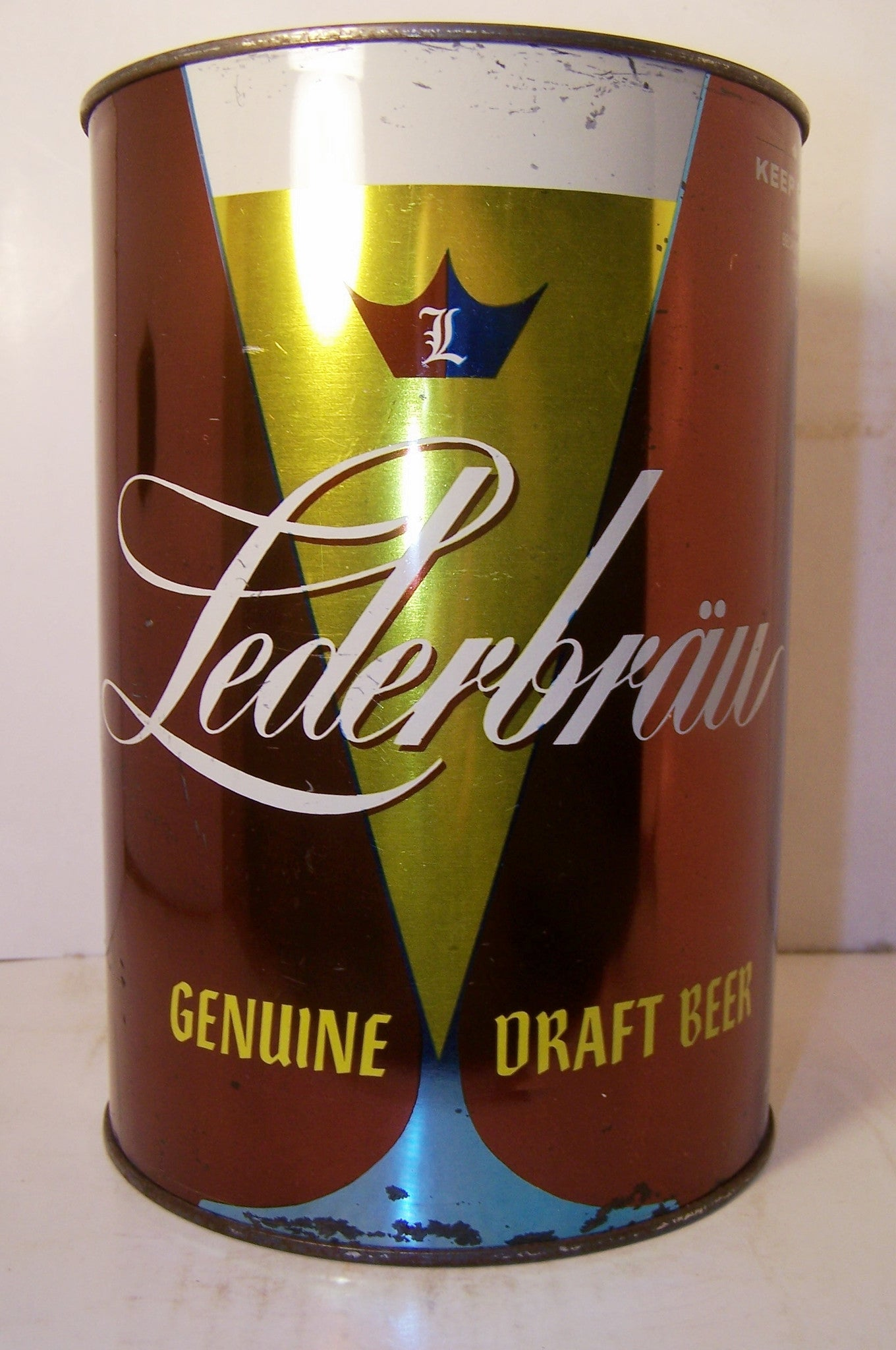 Lederbrau Genuine Draft Beer, USBC 245-11, Grade 1/1-  Sold  12/2/14
