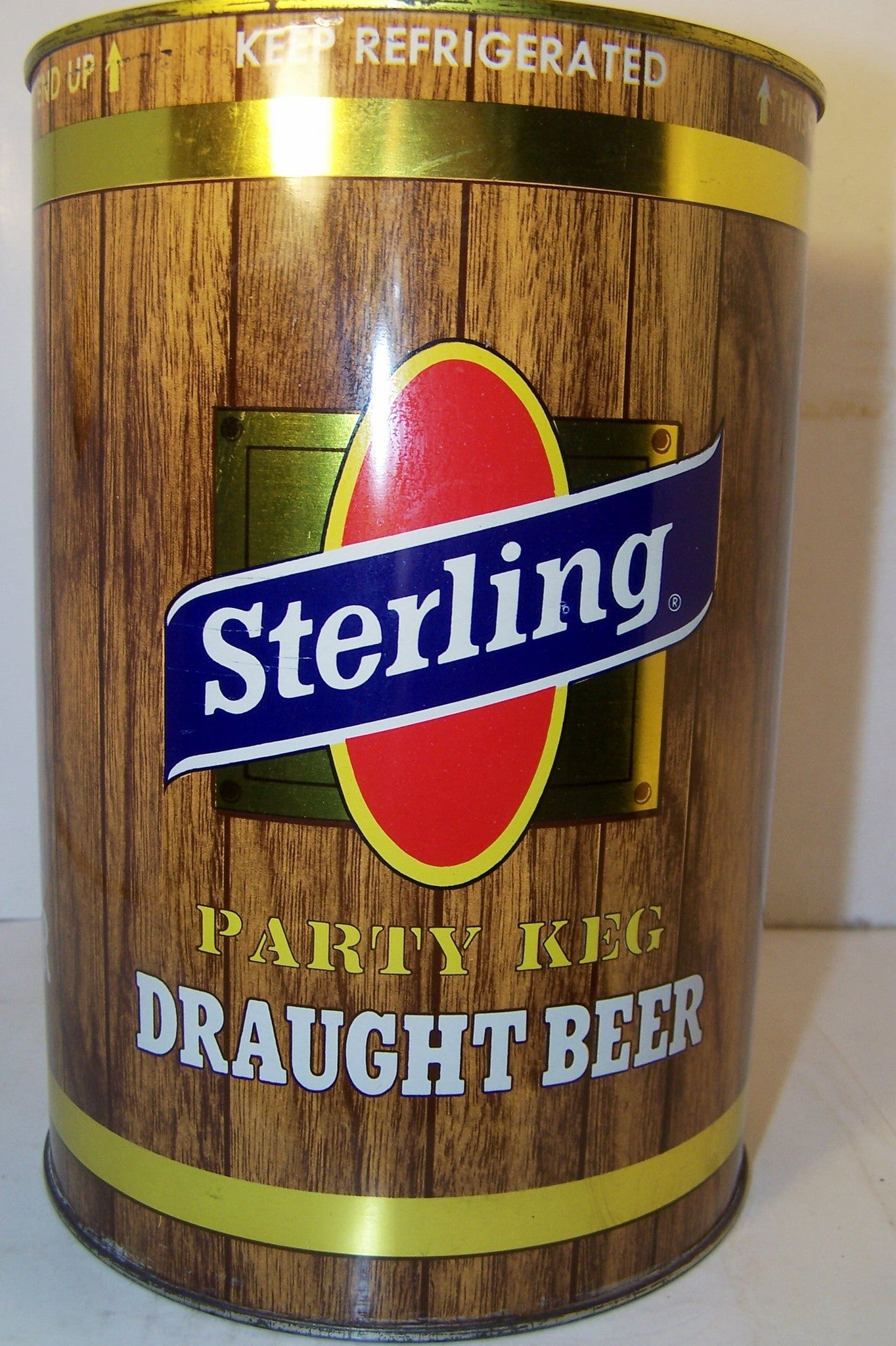 "Sterling Draught Beer ""party Keg"" USBC 246-10 Grade 1/1+ Sold 11/23/14"
