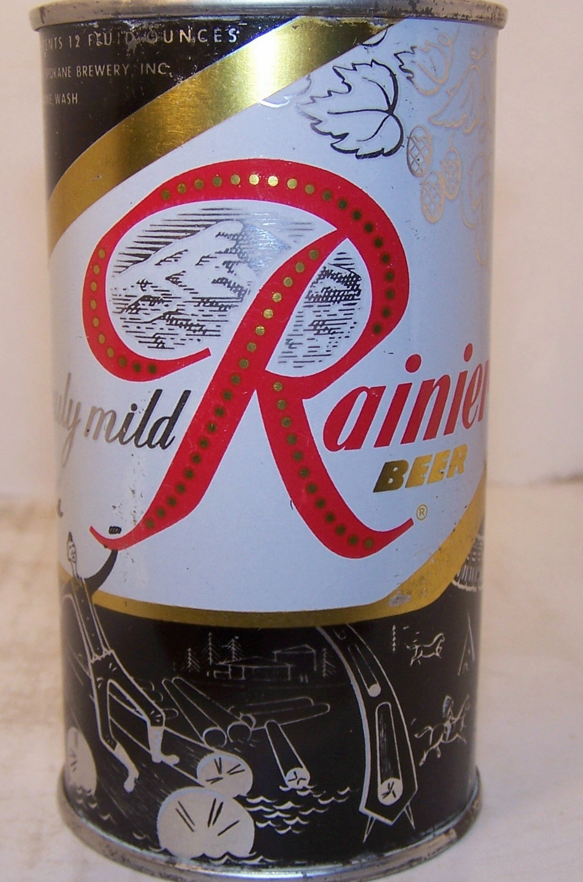 Rainier beer (Paul Bunyan) usbc like 118-30, Grade 1/1+ 7/11/15