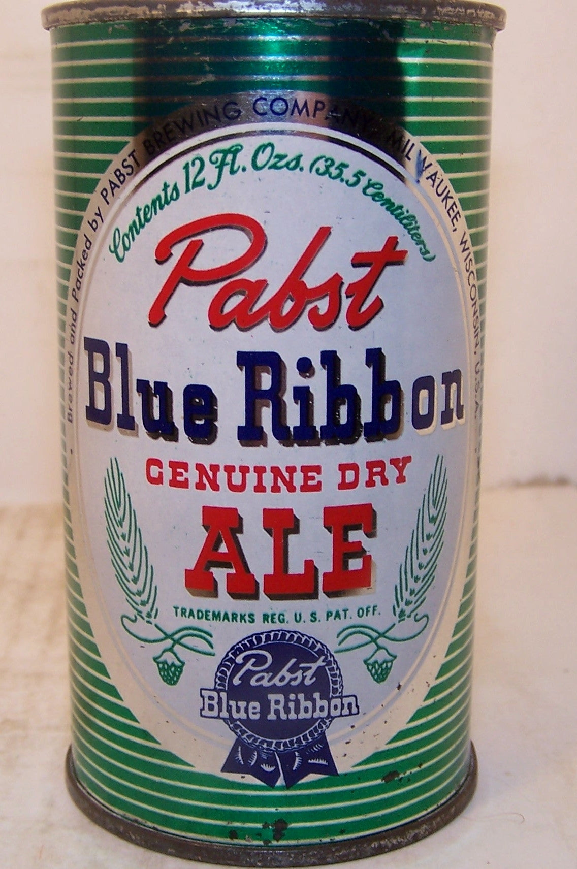 Pabst Blue Ribbon Genuine Dry Ale, USBC 111-2 Grade 1 Sold 12/2/14