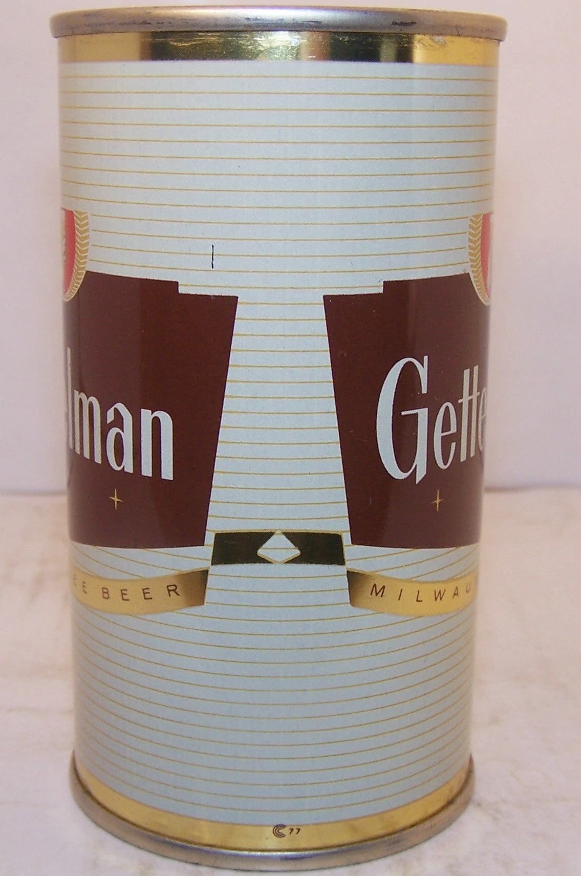 Gettelman USBC 69-5 bank top, Grade A1+