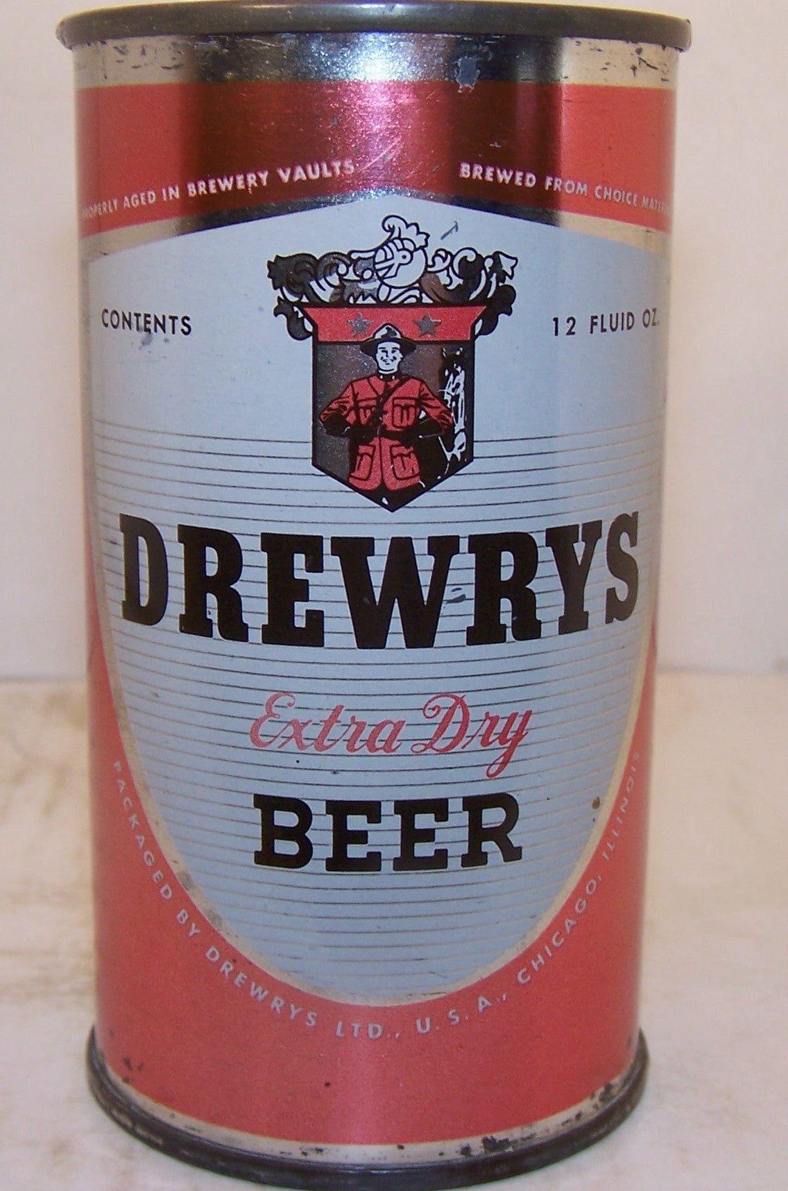 Drewrys Extra Dry Beer, USBC 54-33 Chicago, Grade 1- sold on 09/15/16