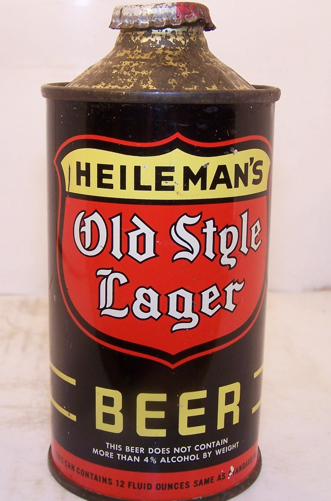 Heileman's Old Style Lager, USBC 177-20, Grade 1/1+ Sold 12/12/14