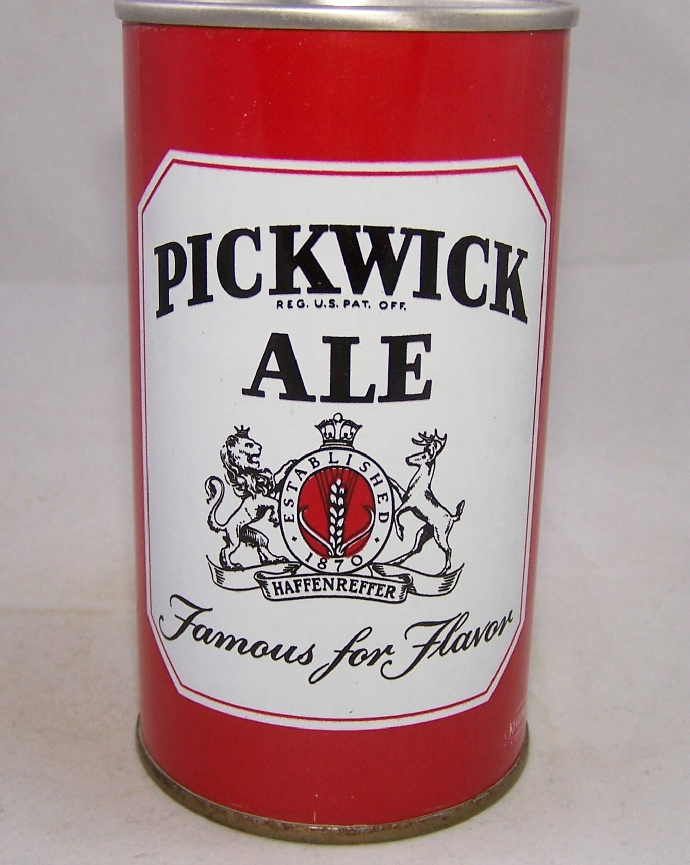 "Pickwick Ale ""Famous for Flavor"" USBC II 108-34. Grade 1/1+"