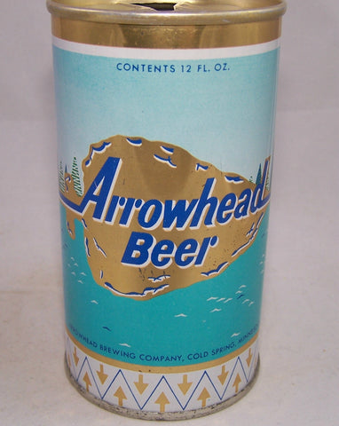 Arrowhead Beer (Gold) USBC II 35-34, Grade 1/1+