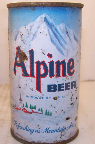 Alpine Beer, USBC 30-1, Grade 2+ Sold 11/20/14