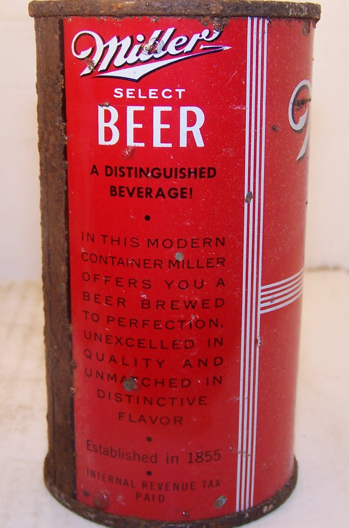 Miller Select Beer, O.I USBC 99-29 Dumper Sold on 4/1/15