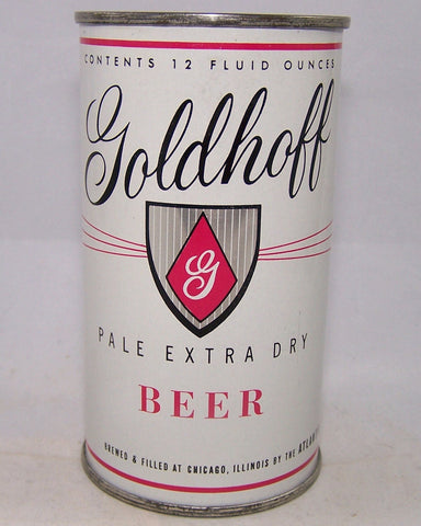 Goldhoff Pale Extra Dry Beer, USBC 71-39, Grade A1+