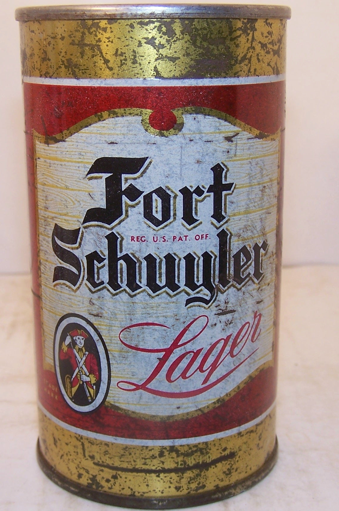 Fort Schuyler Lager, USBC 64-29, indoor, Grade 2+ Sold 4/1/15