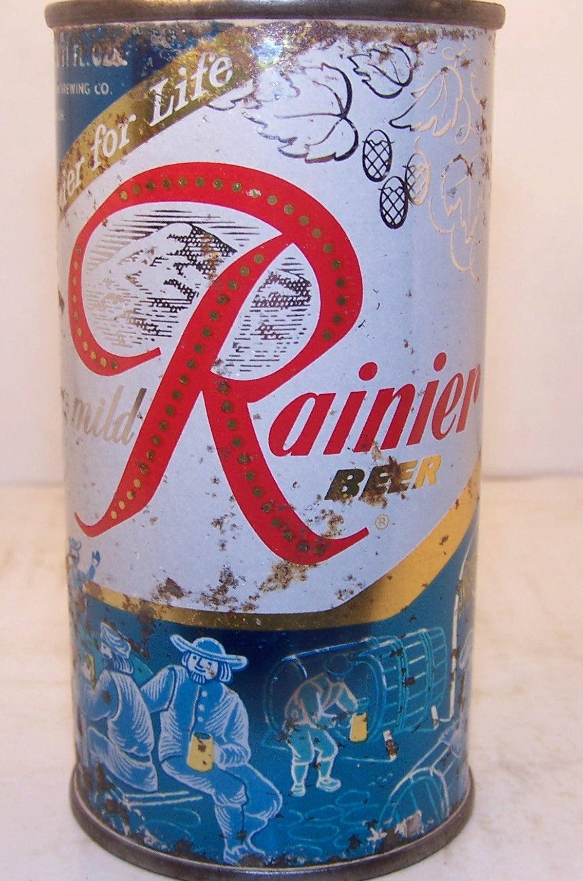 Rainier Jube 11oz Sick's Rainier Brewing, Spokane. Grade 2+ Sold on 3/14/15