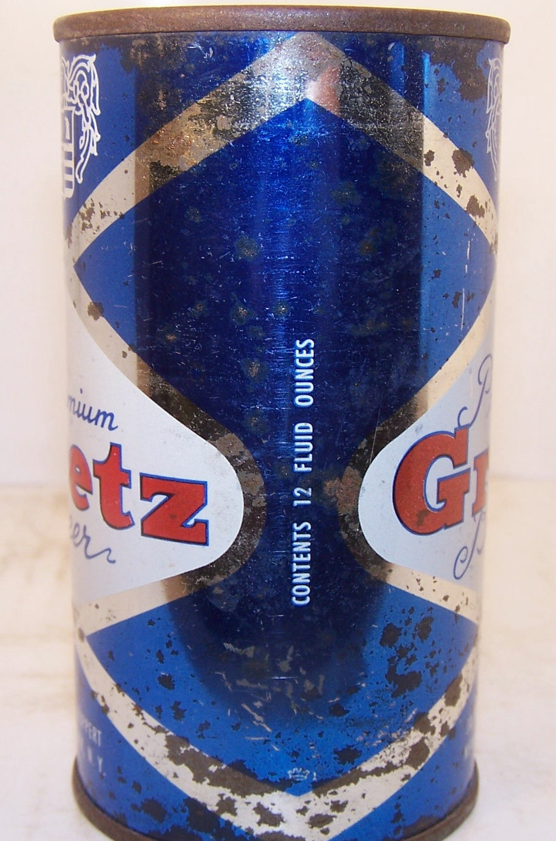Gretz premium beer, USBC N.L Jacob Ruppert Brewing, New York, Grade 1- Sold 8/20/15