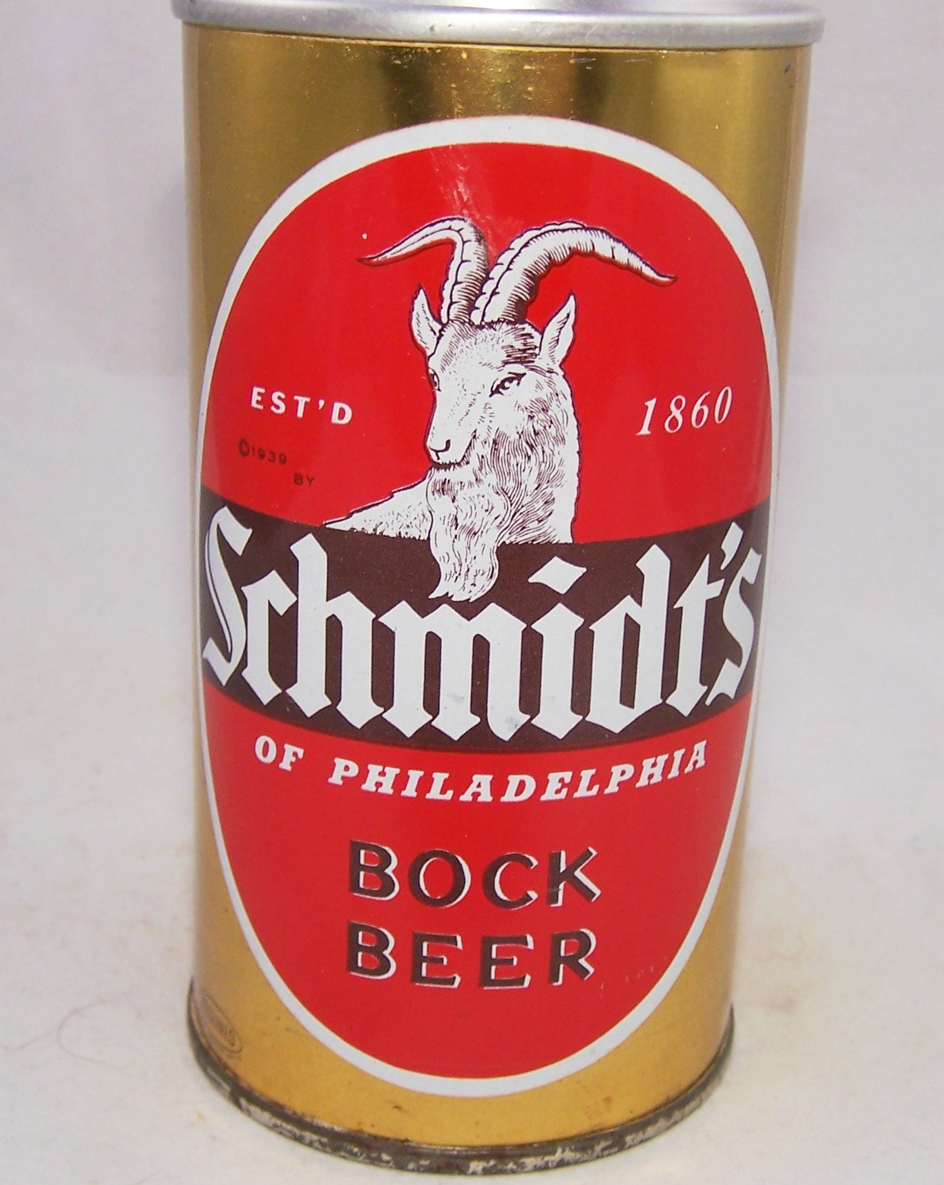 Schmidt's Bock Beer, USBC II 123-13, Grade 1/1- Sold on 05/22/18