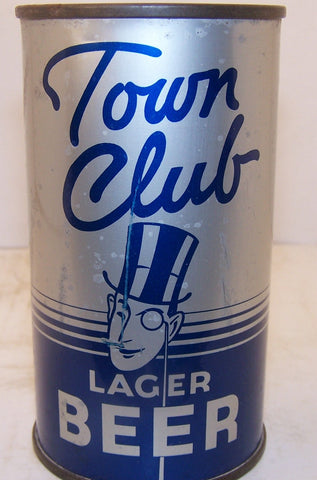 Town Club Lager Beer, Lilek page 789 Grade 1- Asking $1100.00 sold at Hoosier Show 2014 for $900.00 Trending down