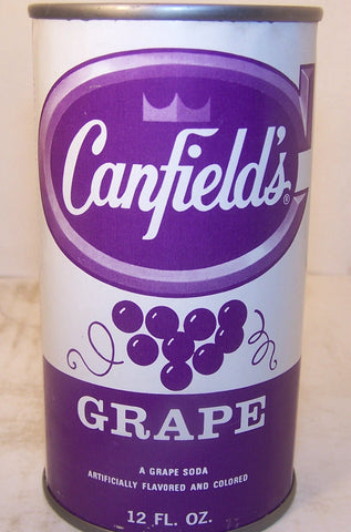 Canfield's Grape 2007 soda book page 136  C180-6 Grade 1/1+