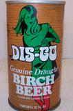 DIS-GO Birch Beer, 2007 soda book page #147 Grade 1/1+